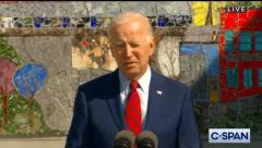 President Joe Biden speaks at a D.C. school on Sept. 10,  2021. (Photo: Screen capture)