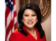 Arizona State Treasurer Kimberly Yee.  (Screenshot)