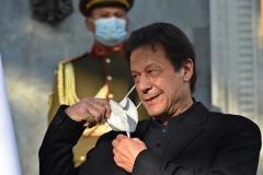 Pakistan's Prime Minister Imran Khan. (Photo by Wakil Kohsar/AFP via Getty Images)