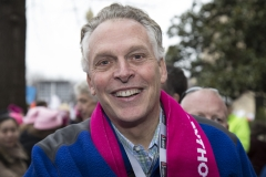 Gov. Terry McAuliffe attends the rally at the Women's March on Washington on Jan. 21, 2017 in Washington, D.C. (Photo credit: Brian Stukes/WireImage)