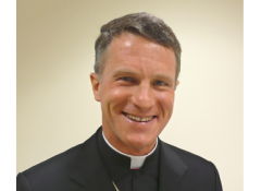 Archbishop for the Military Services Timothy P. Broglio.