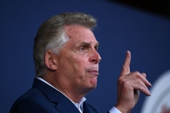 Democrat Terry McAuliffe is making a second run for Virginia governor. (Photo by BRENDAN SMIALOWSKI/AFP via Getty Images)