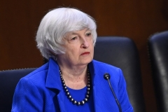 Treasury Secretary Janet Yellen negotiated the global tax pact. (Photo by MANDEL NGAN/AFP via Getty Images)