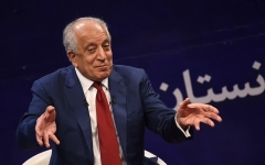 The former U.S. envoy for Afghanistan peace and reconciliation, Zalmay Khalilzad. (Photo by Wakil Kohsar/AFP/Getty Images)