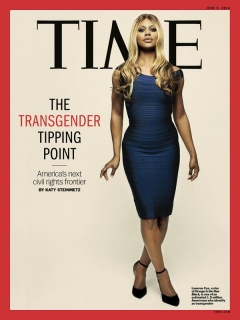 Time magazine, June 9, 2014,  cover story,  The Transgender Tipping Point:  America's Next Civil Rights Frontier. (Photo: AP)
