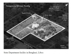 The State Department's Temporary Mission Facility in Benghazi, Libya. (Photo/House Select Committee on Benghazi-Report)