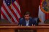 Florida Gov. Ron DeSantis (R) (Photo: Screen capture)
