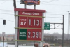 Gas prices listed in Girard, Ohio. (Photo credit: Mark Hendrickson)