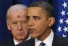 Then-Vice President Joe Biden and President Barack Obama on Ash Wednesday, Feb. 17, 2010. (MANDEL NGAN/AFP via Getty Images)