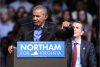 Former President Barack Obama speaks at a campaign rally for Ralph Northam, Oct. 19, 2017. (JIM WATSON/AFP via Getty Images)