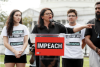 Rep. Rashida Tlaib speaks at the 'Impeachment Now!' rally on the grounds of the U.S. Capitol, Sept. 26, 2019. (Paul Morigi/Getty Images for MoveOn Political Action)