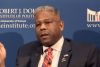 Lt. Col. Allen West speaks on constitutional conservatism. (Photo credit: YouTube/The Dole Institute of Politics)