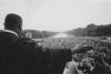 "Rev. Martin Luther King, Jr., speaking from the Lincoln Memorial at the ""Prayer Pilgrimage for Freedom' in 1957. (Photo by Paul Shutzer/The LIFE Premium Collection via Getty Images)"