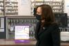 Vice President Kamala Harris visits a D.C. pharmacy to promote vaccination. (Photo: Screen shot)