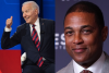 Featured are President Joe Biden and CNN host Don Lemon. (Photo credit: SAUL LOEB/AFP via Getty Images and J. Countess/Getty Images