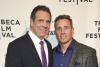 Gov. Andrew Cuomo and CNN host Chris Cuomo attend an event. (Photo credit: Kevin Mazur/Getty Images for HBO)