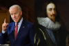 Featured are President Joe Biden and King Charles I. (Photo credit: MANDEL NGAN/AFP via Getty Images and Getty Images/Imagno/Contributor)