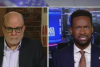 Fox News host Mark Levin interviews Fox Nation host Lawrence Jones. (Photo credit: Fox News)