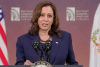 Vice President Kamala Harris addresses the National Congress of American Indians on October10, 2021. (Photo: Screen capture)
