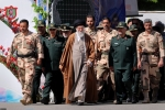 Iran's supreme leader Ayatollah Ali Khamenei with IRGC brass. (Photo: Office of the Supreme Leader, File)