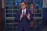 "Anti-Trumper Stephen Colbert hosts ""The Late Show"" (Photo: Screen capture)"