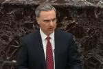 White House Counsel Pat Cipollone presents arguments in the Senate impeachment trial on Jan. 21, 2020. (Photo: Screen capture)