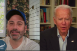 Former Vice President Joe Biden has a conversation with Jimmy Kimel on March 26. (Photo: Screen capture):