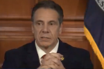 New York Gov. Andrew Cuomo holds his daily press briefing on coronavirus on April 6, 2020.  (Photo: Screen capture)