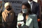 Rep. Alexandria Ocasio-Cortez (D-N.Y.) speaks outside Democrat Party  headquarters in Washington, D.C., on Nov. 19, 2020. (Photo: Screen capture)