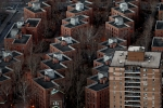 Featured are apartment buildings in Manhattan. (Photo credit: Alex Trautwig/Getty Images)