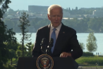 President Biden sums up his summit with Russian President Putin on June 16 in Geneva. (Photo: Screen shot)