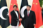 Chinese President Xi Jinping and Pakistan Prime Minister Imran Khan in Beijing in 2019. (Photo by Madoka Ikegami/AFP via Getty Images)