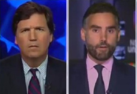 Tucker Carlson Asks Univision Anchor: If Latinos Oppose Latino Illegal Immigration, 'Where's the Racism?'