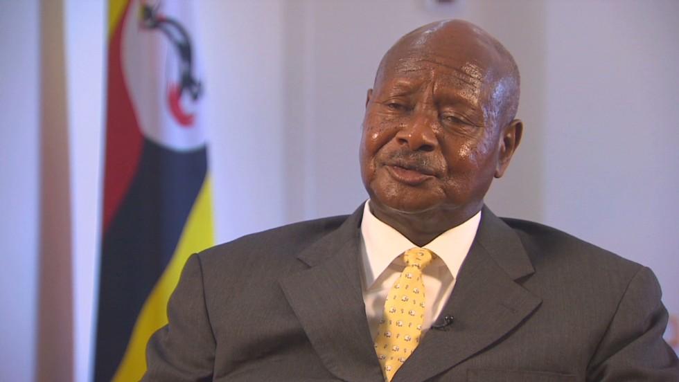 Uganda and Ghana where gay